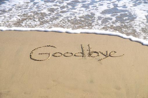 Beach Goodbye