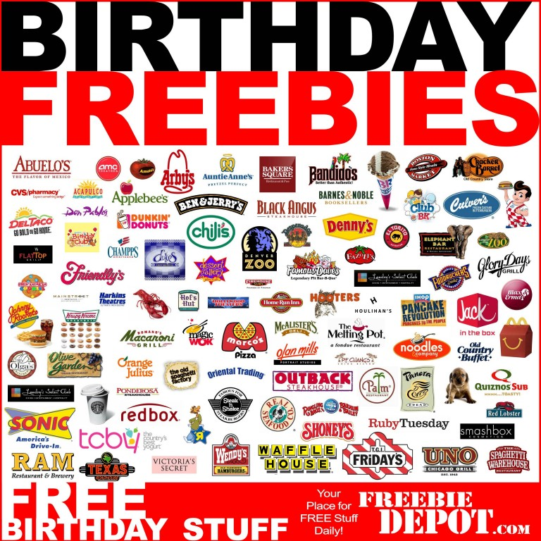Free Birthday Food